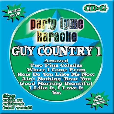 Party Tyme Karaoke Party Tyme Karaoke Guy Country 1 Amazoncom