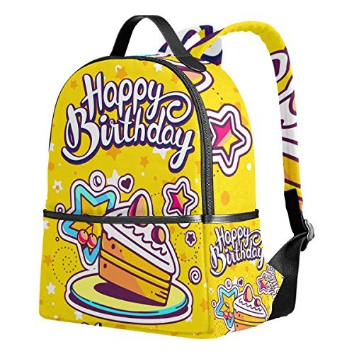 Happy Birthday (27) Unisex Rucksack Canvas Satchel Casual Daypack ,School College Student - Boynton Jim