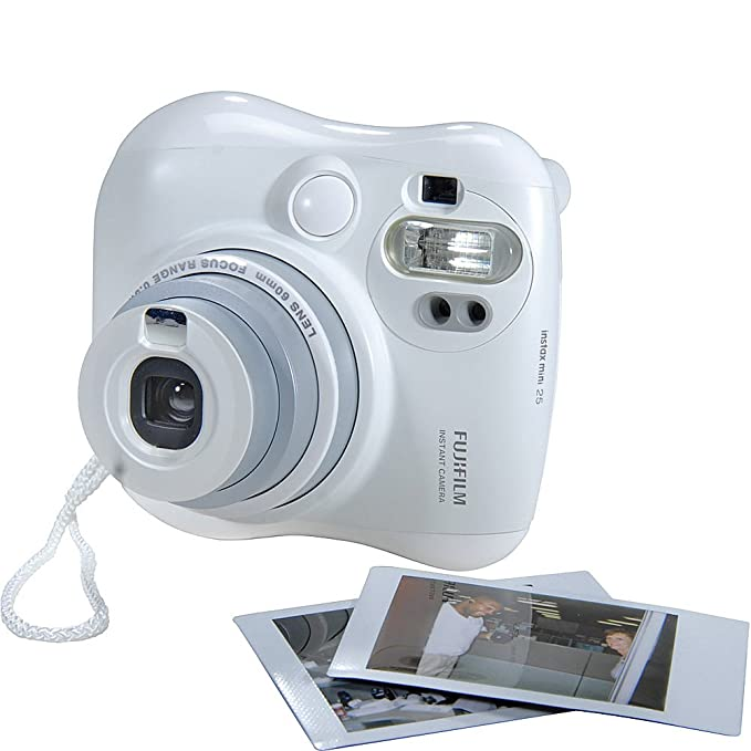 Amazon Fujifilm Instax MINI 25 Instant Film Camera White Photo