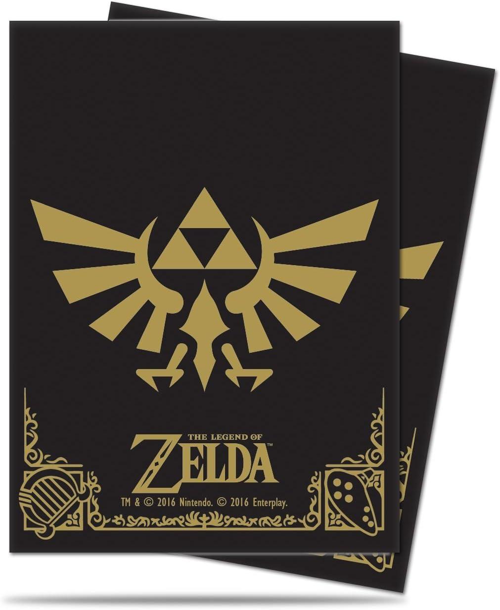 THE LEGEND OF ZELDA PLAYMAT ULTRA PRO BLACK AND GOLD
