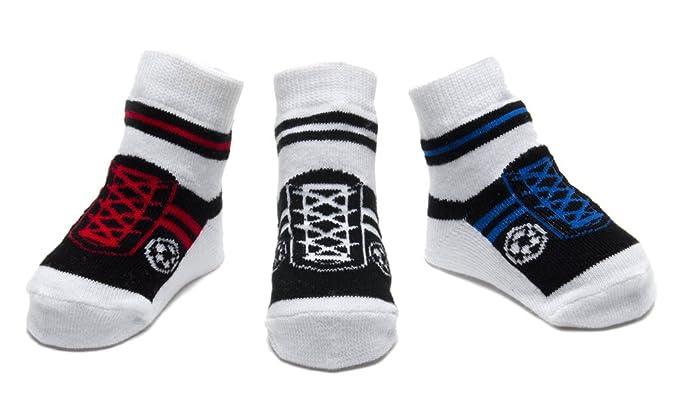 Baby Emporio - Baby Anti-Rutsch-Socken im Schuh-Design für Jungen ...