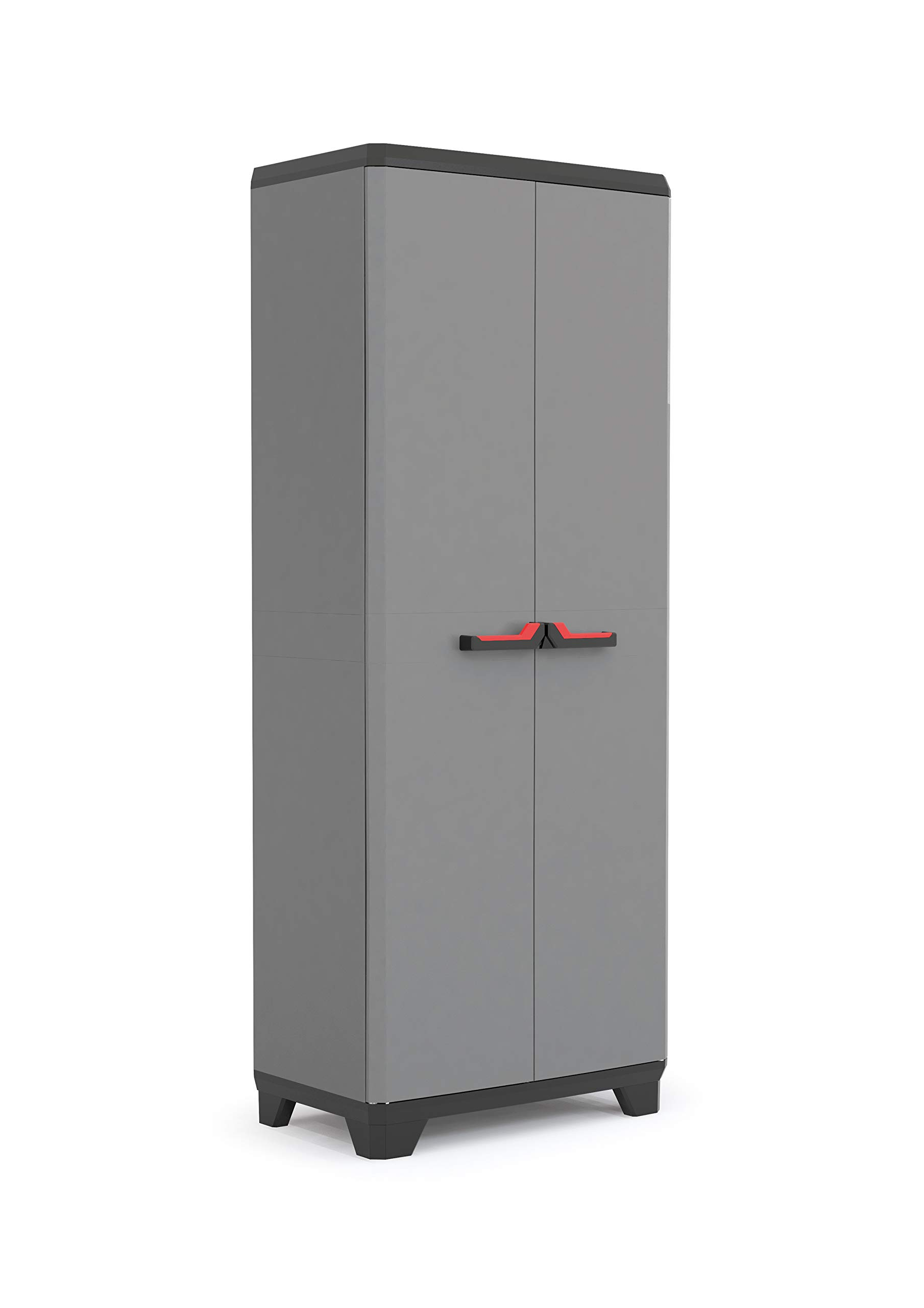 KIS Stilo Utility Cabinet cm L68 x D39 x H173 Garden Storage Cabinet