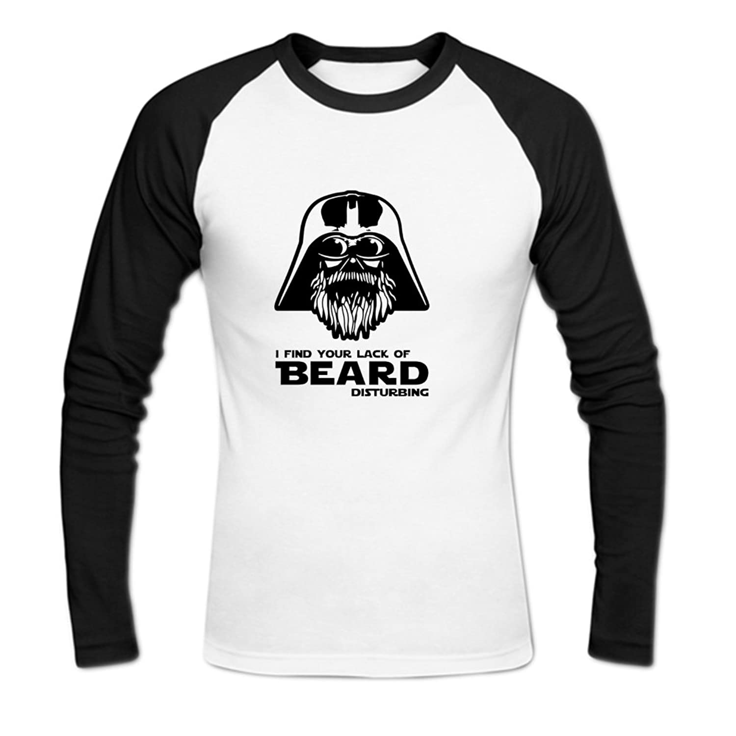 I Find Your Lack Of Beard Mens Baseball Shirts