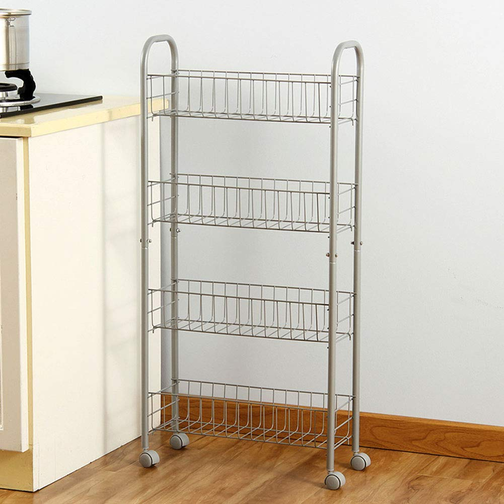 Shelf Storage Racks Storage Basket Shelf Baskets Oven Stand Kitchen Landing Four Floors It Can Move Finishing Rack Storage Rack ZHAOYONGLI by ZHAOYONGLI-shounajia (Image #5)