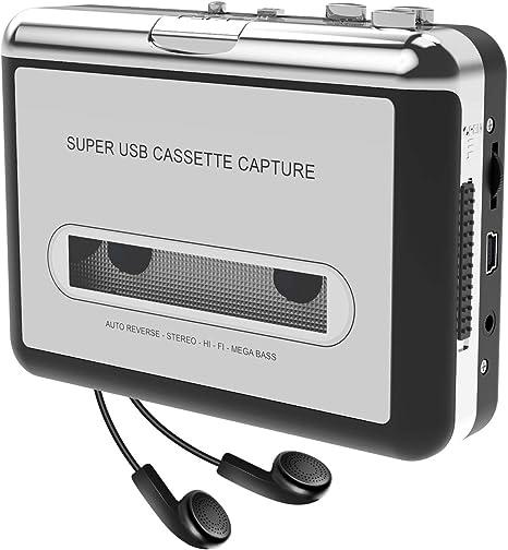 Kassettenspieler Kassette Zu Mp3 Elektronik