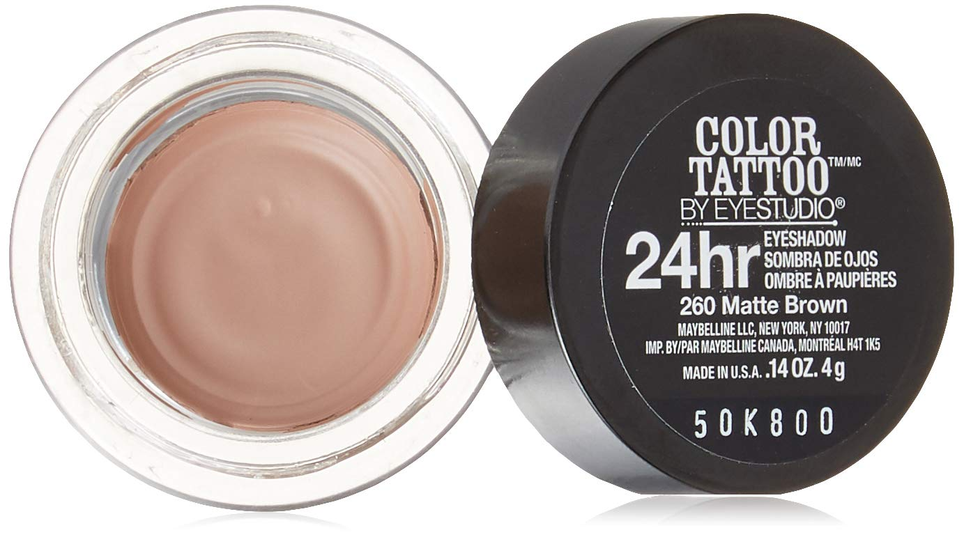 Maybelline Color Tattoo Limited Edition 260 Matte Brown