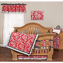 Trend Lab Waverly Charismatic Flower for girls 3 Piece Crib Bedding Set