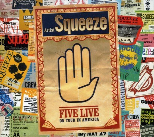 Squeeze - five live on tour in america - Zortam Music