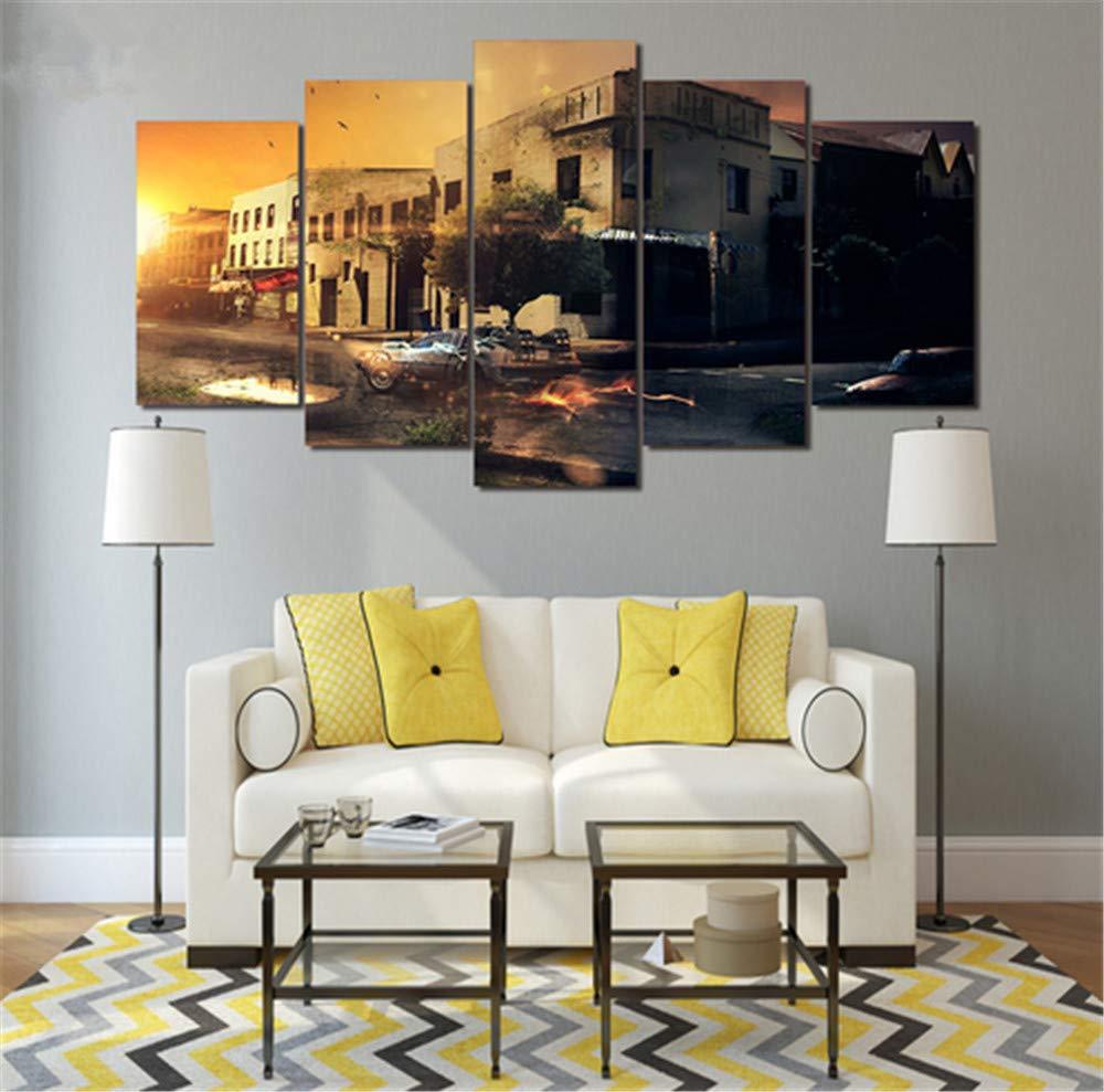 Moderno HD Impreso Pintura Lienzo Decoración para el hogar 5 ...