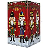 Spring Country 4 Piece 12 Inch Nutcracker Figures Soldier Doll Decoration Figurine Collection Holiday House Present Wood Occasion Ornament Christmas Decorative Toys Set Kid