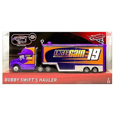 Disney Pixar Cars 3 Bobby Swift Hauler (Octane Gain): Toys & Games
