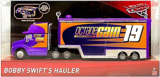 DISNEY HAULER CAMION  DISNEY PIXAR CARS 3 CAL WEATHER EXCLU USA
