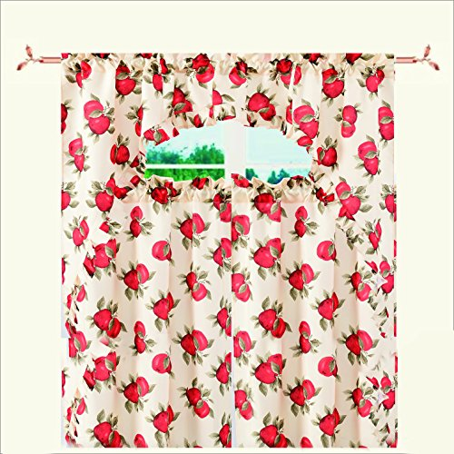 Apple Kitchen Curtains   9