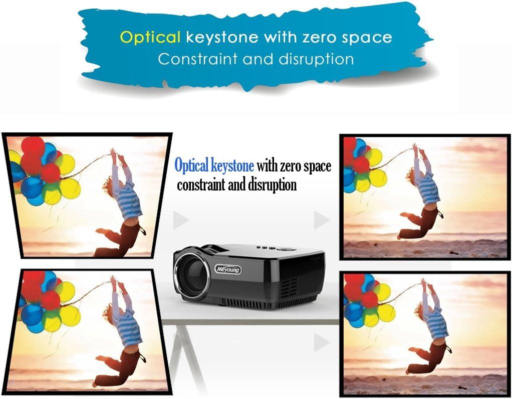 HD mini proyector portátil, Meyoung LED proyector de Pico gp70 a ...