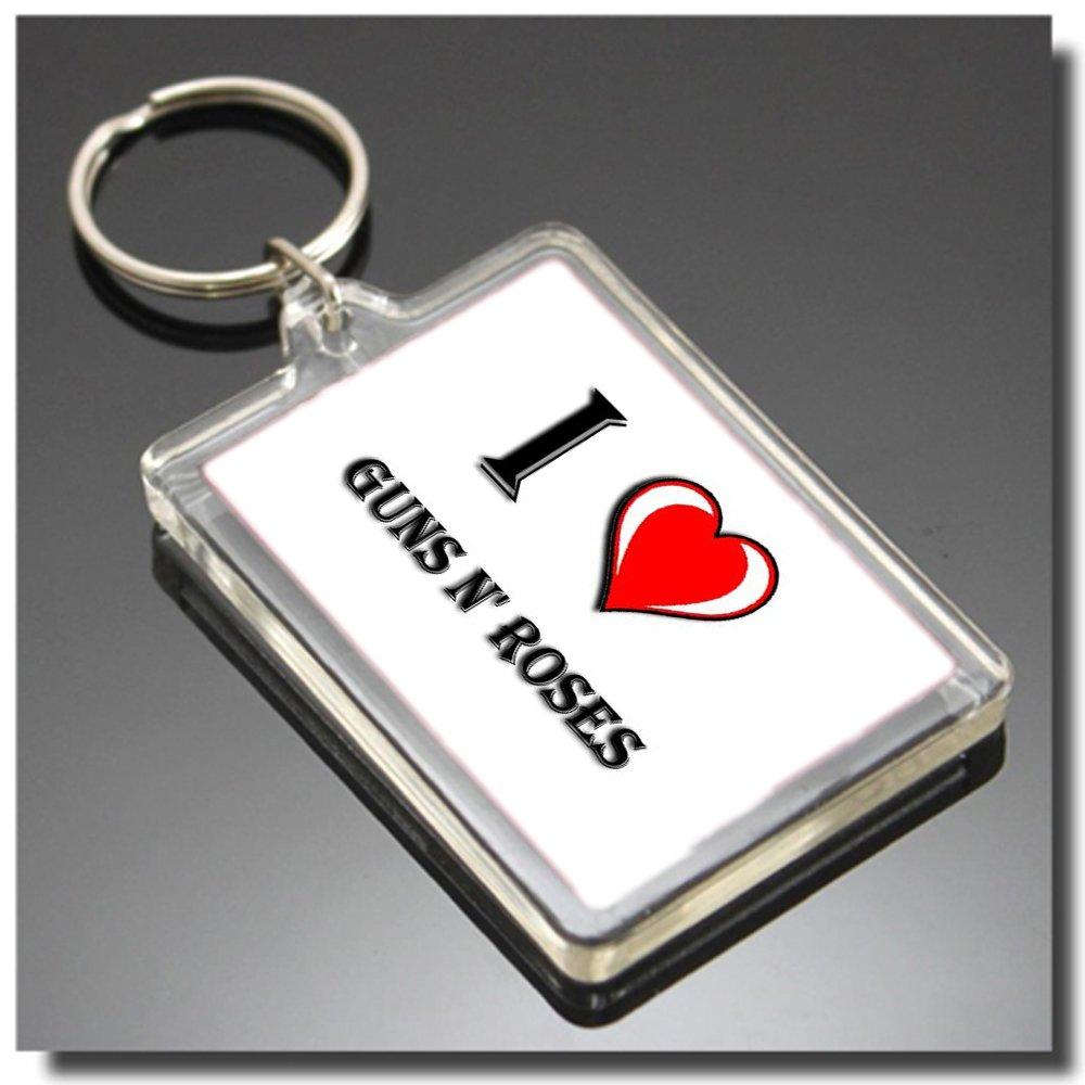 Guns N Roses I Heart Keyring - I Love Llavero: Amazon.es: Hogar