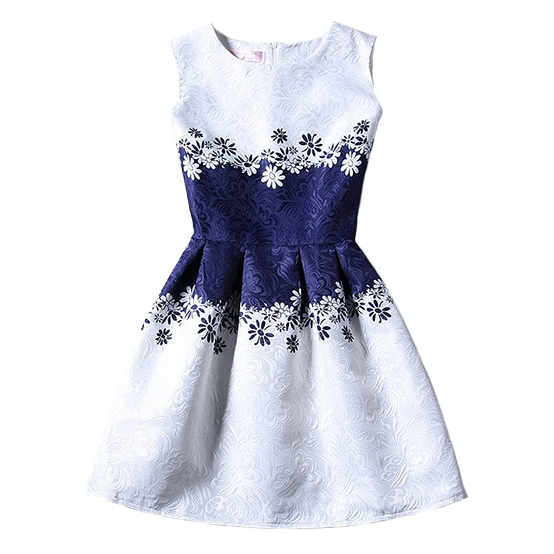Jiayiqi Frauen Besondere Blüte Muster Partei Kurzes Kleid ...