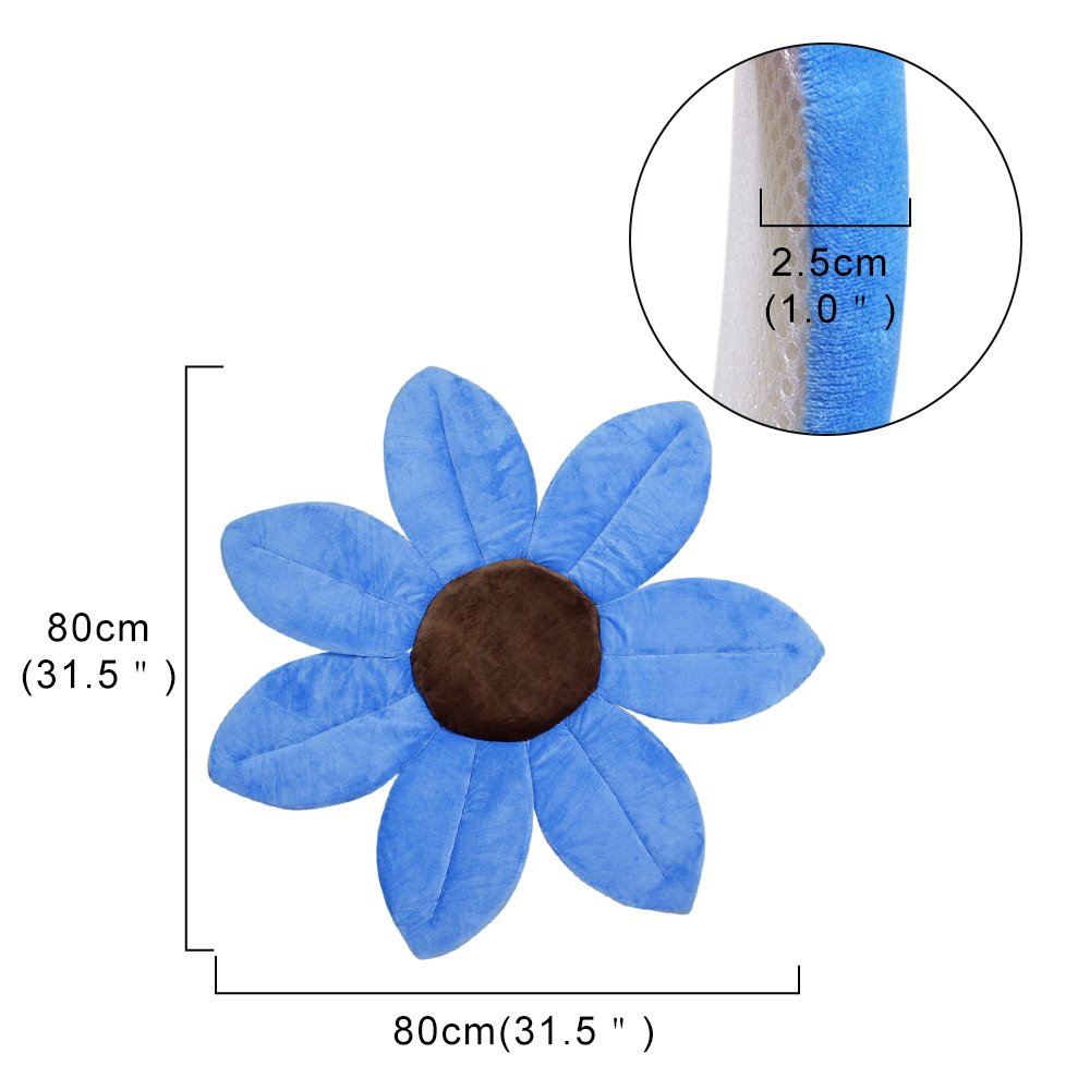Blooming Bath,Baby Flower Bath Tub,Wash Flower Cushion Support For ...