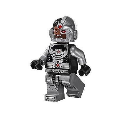 LEGO Super Heroes DC Universe Justice League Minifigure - Cyborg: Toys & Games