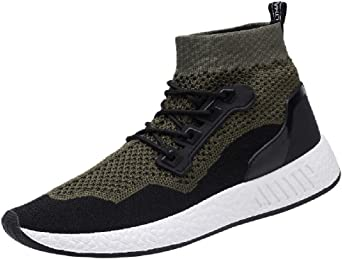 COOLIY Unisex Hombre Mujer Zapatillas de Running con Fondo Suave Transpirable de Malla para Mujer Gimnasia Correr Deportes Fitness Zapatos de Deporte Gimnasio de Jogging Verde 36: Amazon.es: Ropa y accesorios