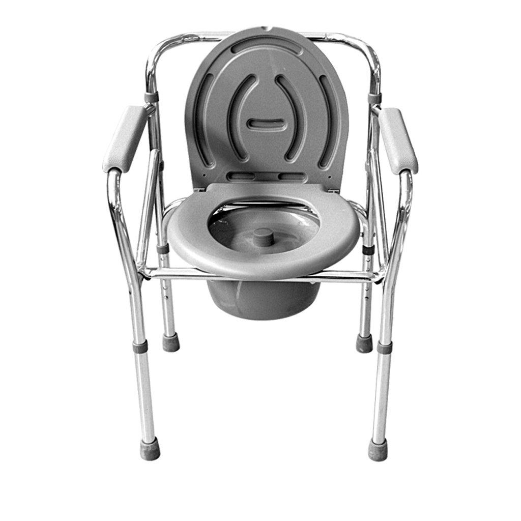 Shariv-シャワーチェア トイレ/椅子に座っている高齢者/高齢者の妊婦折り畳み式のバスチェア B07DR5V892