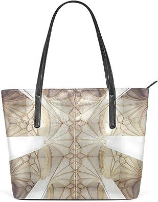 Color Leather Top Handle Satchel Girl Handbag Shoulder Tote Bag for Girls Women