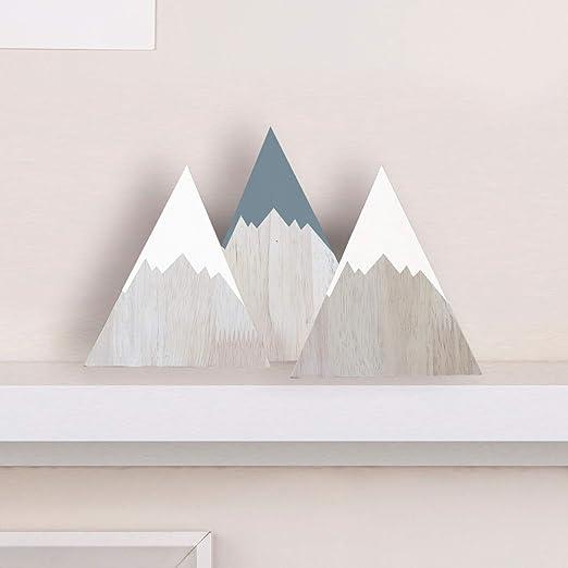 De toalla Triangle triángulos pequeños azul oscuro blanco