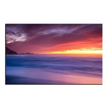 amazon モダンアートワークrockaway beach california landscape壁