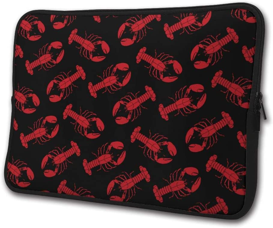 SWEET-YZ Laptop Sleeve Case Canadian Lobster Notebook Computer Cover Bag Compatible 13-15 Inch Laptop