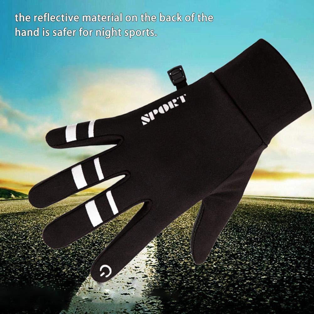 iStary Guanti Sportivi Invernali Termici in Peluche Guanti Antiscivolo per Il Touch Screen Guanti Invernali Impermeabili Guanti Moto Guanti da Moto Ciclismo Completo By