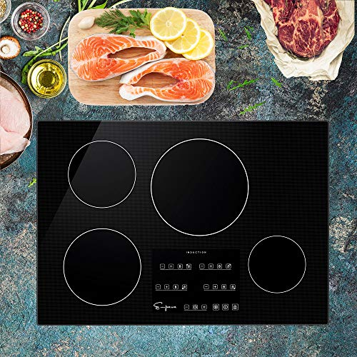 Empava 30' Induction Cooktop Electric Stove Black Vitro Ceramic Smooth Surface Glass EMPV-IDC30