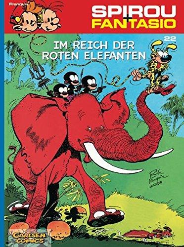 Spirou & Fantasio, Band 22: Im Reich der roten Elefanten