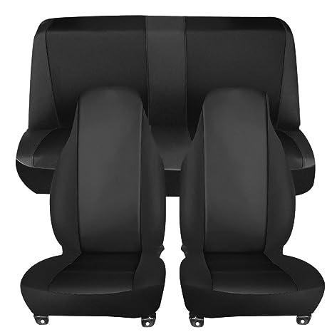 Astonishing Johns Car Seat Cover For Car Truck Van And Suv Deluxe Full Set Black Spiritservingveterans Wood Chair Design Ideas Spiritservingveteransorg