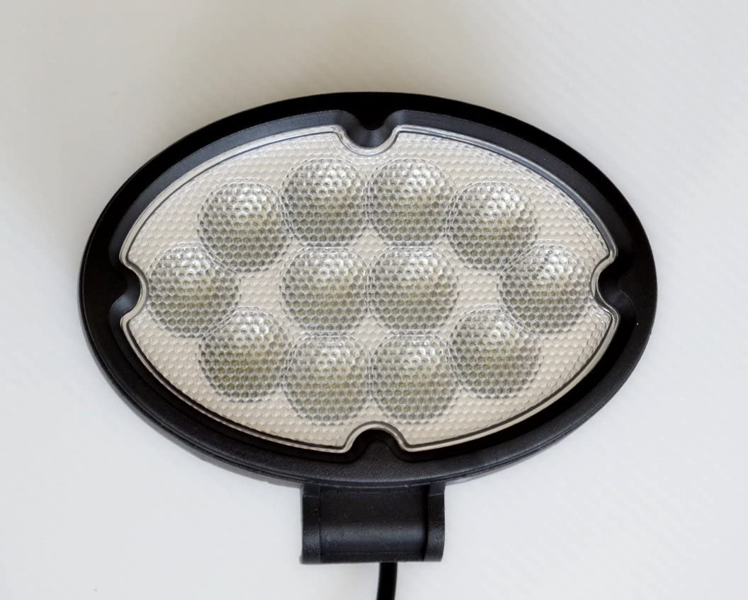 Lámpara de trabajo ovalada grande de 36 W LED de 17,78 cm CREE LED de 12 V 24 V para camiones, tractores, todoterrenos, camiones y barcos