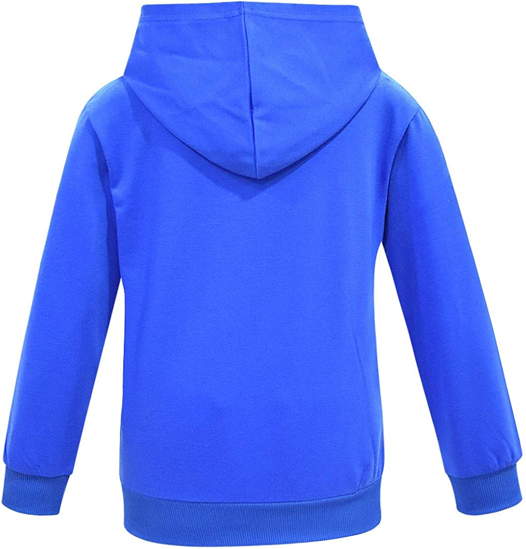 TaoLeKiding Boys Hoodies Kids Childrens YouTube Clothes Fashion Blue Red Costume