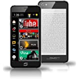 SIAM 7X Dual Screen, Dual Sim Smartphone With 16 MP Camera, SMS Audio, Android 5.1 Lollipop, (Black)