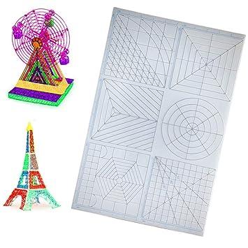 Alfombrilla de silicona 3D multiusos con diseño 3D para impresión ...