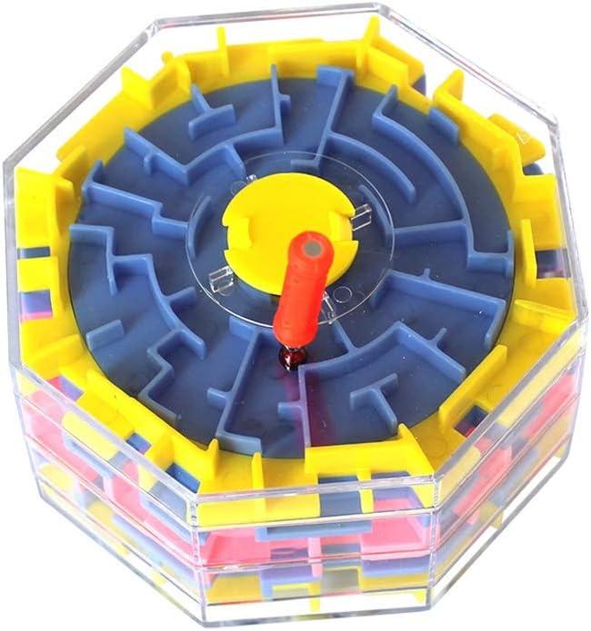 Pkjskh Estéreo 3D Laberinto cambiable Cubo para niños Laberinto educativo Juguete Torbellino Laberinto Ruta cambiable Niño niña Interacción entre padres e hijos Caminar la bola Laberinto Todas las eda: Amazon.es: Productos para