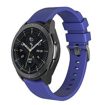 NotoCity Bracelet Samsung Galaxy Watch 42mm, 20mm Bracelet de Remplacement Bande de Poignet en Silicone