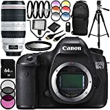 Canon EOS 5DSR DSLR Camera with EF 100-400mm f/4.5-5.6L IS II USM Lens 28PC Accessory Bundle - Includes 64GB Memory Card + MORE