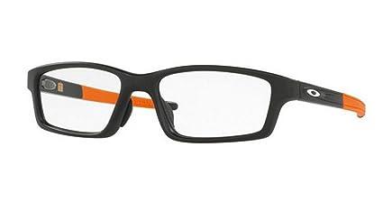 56782f07a1 Amazon.com  Oakley Crosslink Pitch Eyeglasses OX8041-11  Clothing