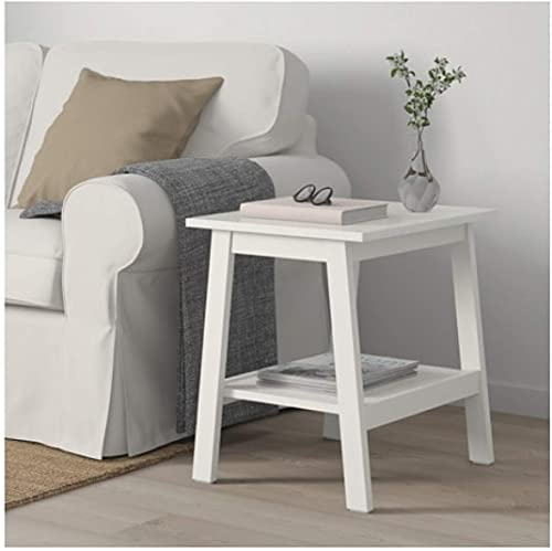 IKEA Lunnarp Side Table White Size 21 5/8×17 3/4″ 703.990.20