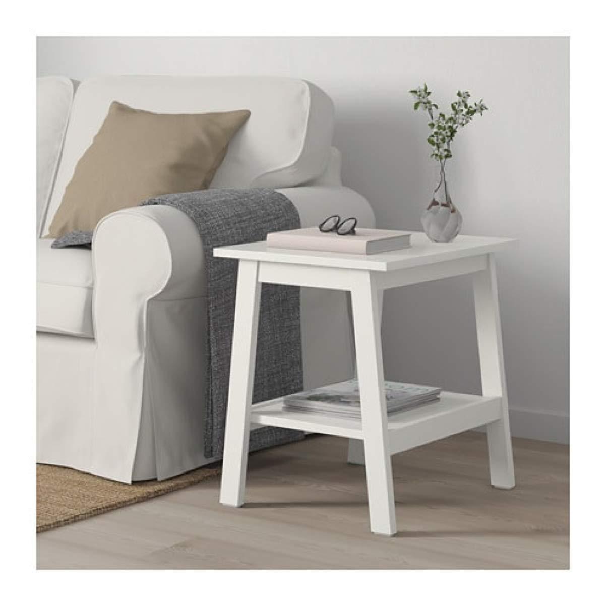 Ikea Lunnarp 703.990.20 - Mesa Auxiliar (tamaño 21, 5/8 x 17 3/4 ...