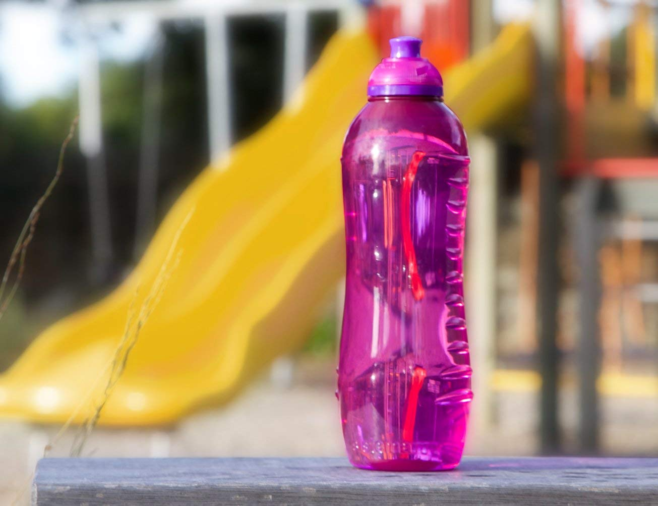 Team Pack ~ Bundle of 10 Premium Water Bottles for Kids Men Women Bikes Running BPA Free Sistema Sports Squeeze Water Bottles Bulk 21 Ounces
