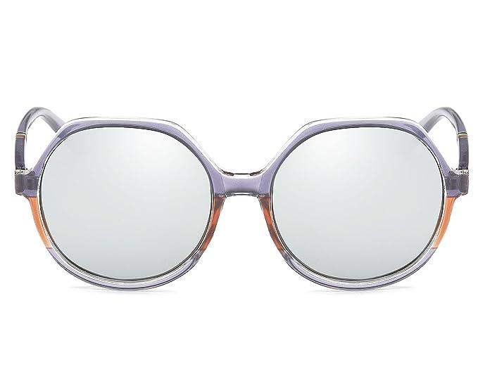 Bmeigo Gafas de sol Polarizadas para Hombre Mujer Lentes Diseño de Moda  Vintage UV400 Marco de metal Gafas Unisex Deportivas Aire Libre  Amazon.es   Ropa y ... 068fe1ee2229