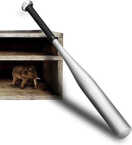 Vaorwne Batte de Baseball Aluminium 34 Pouces Noir
