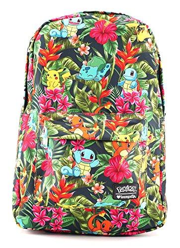Loungefly Pokemon Tropical Starter School or Multipurpose Backpack]()