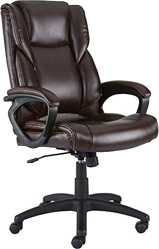 Staples 2554454 Kelburne Luxura Office Chair Brown