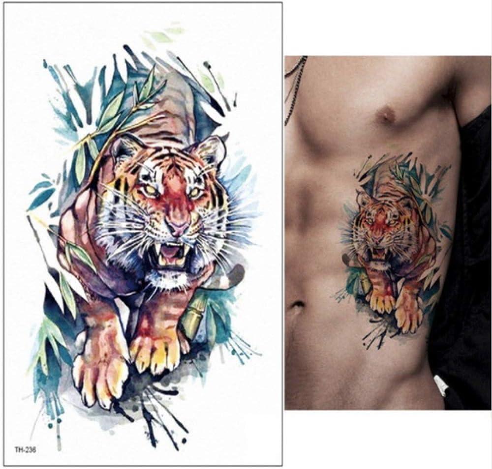 Handaxian Tatuaje Tribal Lobo 3pcsBlack con Etiqueta engomada del ...