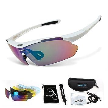 gossipboy protección UV deportes gafas de sol polarizadas Ciclismo Wrap gafas de sol para senderismo conducción