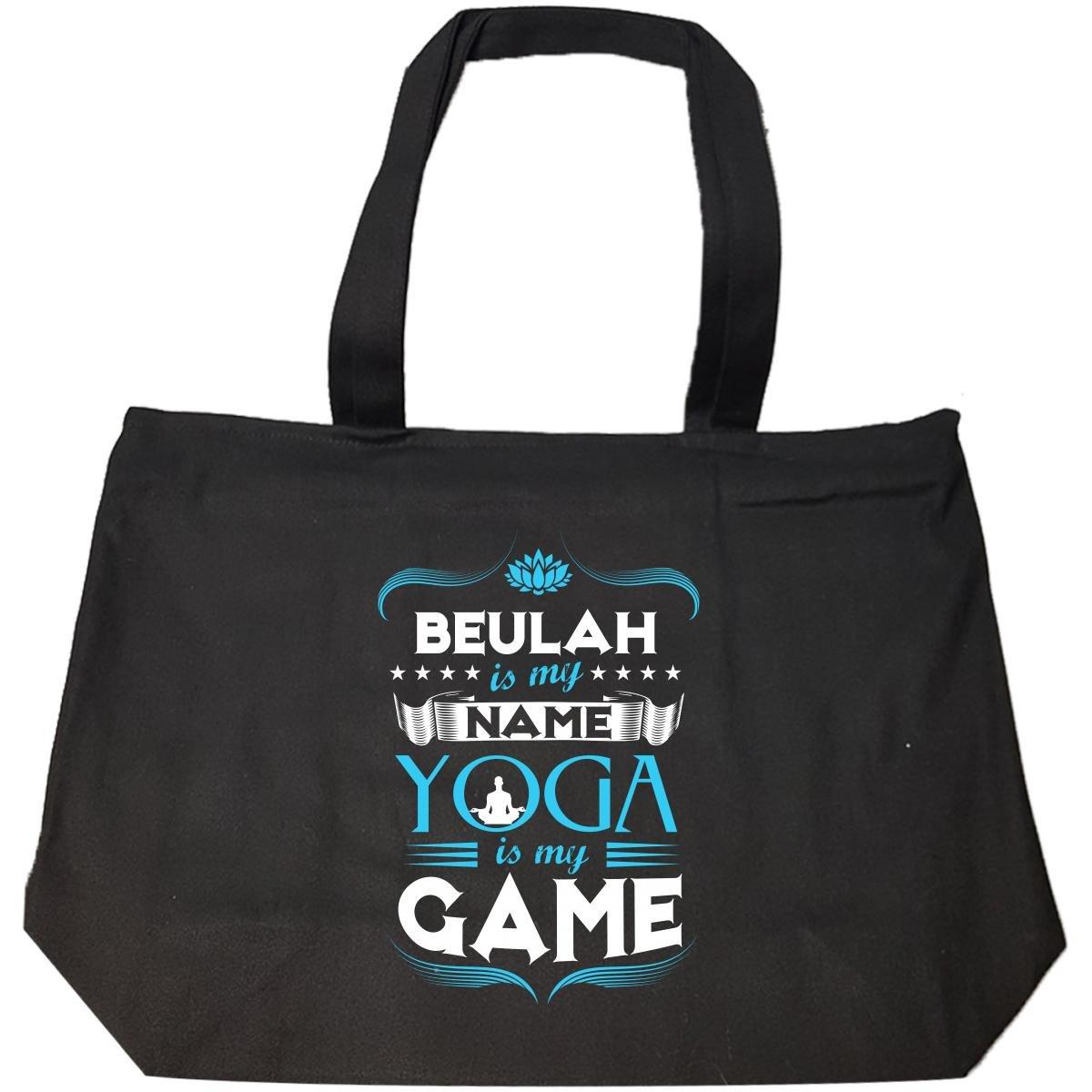 Amazon.com: Beulah My First Name Yoga My Game Yoga Teacher ...